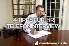 4 Tipps für Ihr Telefoninterview