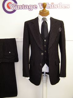 Mens Vintage Clothing Blog - Vintage Menswear: Retro Wedding Suits