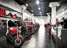 See the Google Virtual Tour at www.insidebusinessnyc.com -  #ducati #NY #motorcycle - Black Paw Photo is a NY, NJ, PA, & CT Certified Google Trusted Photographer.