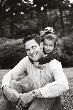 My favorite Daddy Daughter portrait. Need to remember to recreate this picture of my husband and daughter every year in our family photos. @Jessica Masters