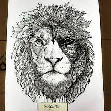 """Résultat de recherche d'images pour """"zentangle lion"""""""