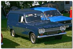 A grey escort mk1 van was my third vehicle.... we went on honeymoon in this to Anglesey... how things change