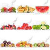 Fototapety frutta collage