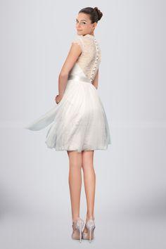 Romantic White Tulle Bridesmaid Dress Holding Illusion Lace Back, Quality Unique Bridesmaid Dresses Unique Bridesmaid Dresses, Tulle Bridesmaid Dress, Wedding Dresses, Rehearsal Dinner Dresses, Post Wedding, Lace Back, Flower Girl Dresses, Ballet Skirt, Romantic