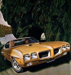 1970 Pontiac GTO Hardtop Coupe - 'Road to St. Moritz': Art Fitzpatrick and Van Kaufman