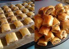 Paszteciki z miesem : Składniki na ok. 40 sztuk: 300 g… na Stylowi.pl Cake Recipes, Snack Recipes, Cooking Recipes, Snacks, Yummy Recipes, Good Food, Yummy Food, Ukrainian Recipes, Polish Recipes