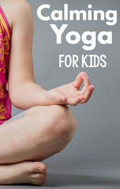 Kids yoga poses that can help kids calm down. A great calm down activity for kids, but also equally as great as a brain break for kids. These ideas are perfect for yoga for kids and yoga for the classroom. A great physical education activity as well!