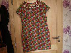 Petite robe housse selon un modèle BURDA , légèreté pour l'étè
