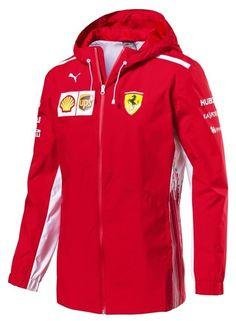 Rosso Corsa Wind Jacket Men/'s Puma SF Ferrari Lightweight Jacket