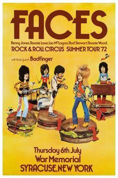 "Oi !!!! le band des ""Chelsea haircuts"" !!! ronnie ,ron , rod the tartan ""glam"" mod ,ian , Kenny…..1971….les stones version prolo !!!!"