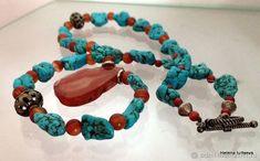 Antique Jewelry, Turquoise Bracelet, Beaded Bracelets, Gems, Antiques, Fashion, Old Jewelry, Antiquities, Moda