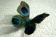 Danty Infant Newborn Peacock Butterfly Wings -- Photo Prop. $24.99, via Etsy.
