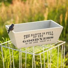 Love this saying for an outdoor flag or sign.
