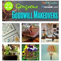 22 Gorgeous Makeovers From Items Found At Goodwill