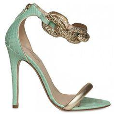 Giambattista Valli Chain Embellished Sandal