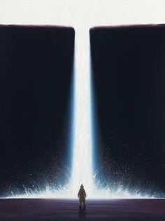 "Saatchi Art Artist Robert Bissell; Painting, ""Genesis X"" #art  15750$"