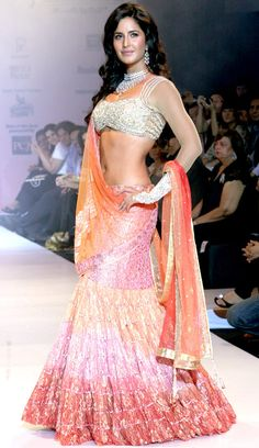 Katrina Kaif With Her Stylish Looks Hot gallery picture archive hot magazine news Bollywood Fashion, Bollywood Actress, Bollywood Style, India Fashion, Asian Fashion, Indian Dresses, Indian Outfits, Indian Clothes, Katrina Kaif Navel