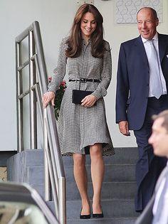 Kate Middleton visited the Anna Freud Centre in London on September 17, 2015