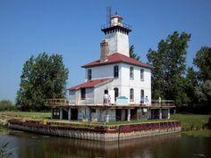 Saginaw River Rear Range Lighthouse
