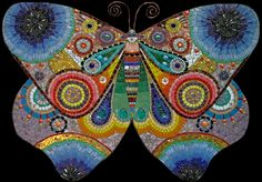 mosaic #butterfly