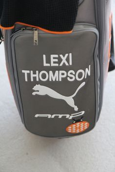 Lexi Thompson s Puma Golf bag  )  lexithompsongolf Michelle Wie a447927acf030