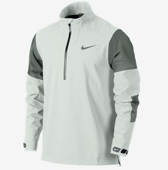 nike white quarter zip