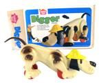 Digger the Dog . . . Digger he goes with you . . . I loved this dog. A favorite toy as a toddler.