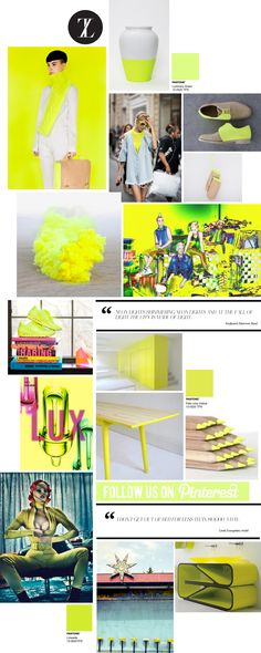Curating the Curated: Neon Yellow | Trendland: Fashion Blog & Trend Magazine