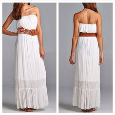 Beautiful boho inspired maxi dress comes with belt. Casual but perfect for summer evenings. Lined almost fully.    65% Polyester 35% Rayon Lining 100% Polyester       Shop this product here: spreesy.com/shoptopshelfwardrobe/1158   Shop all of our products at http://spreesy.com/shoptopshelfwardrobe      Pinterest selling powered by Spreesy.com