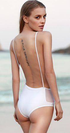 Shop trendy fashion swimwear online, you can get sexy bikinis, swimsuits & bathing suits for women on ZAFUL. Swimwear Model, Best Swimwear, Trendy Swimwear, One Piece Swimwear, Swimwear Fashion, Bikini Inspiration, Style Inspiration, Bikinis, Swimsuits