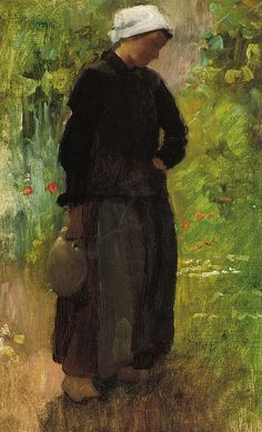 "Cecilia Beaux (1855-1942), ""A Country Woman"""