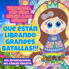 Virgencita Plis ayúdalos, te necesitan mucho !!! #DíaInternacionalDelCancerInfantil