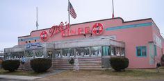 Tilton Diner    This is a bit of a chain in central NH but each is called a different name and has an old diner attached to the restaurant and some old collectibles inside.