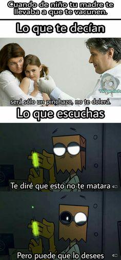 2da parte de mi serie de memes y documentos de la deep web.  Capítulo… #humor # Humor # amreading # books # wattpad Funny Spanish Memes, Spanish Humor, Best Memes, Dankest Memes, Humor Mexicano, Avengers Memes, Pinterest Memes, I Got You, Cartoon Network