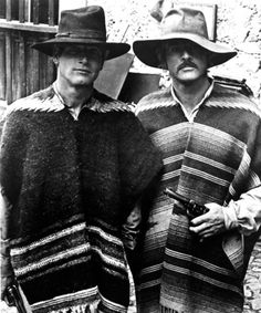 "Mexican Men Paul Newman and Robert Redford in ""Butch Cassidy and the Sundance Kid"""