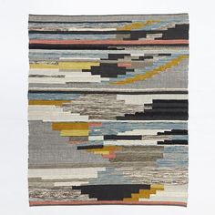 West Elm Multi Pixel Woven Wool Rug, 6'x9', Multi - Decorative Rugs -... (£370) ❤ liked on Polyvore featuring home, rugs, weave rug, west elm area rugs, wool rugs, hand woven area rugs and woven area rugs