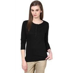 Black Knit Top #onlineshopping http://goo.gl/1cuOiR