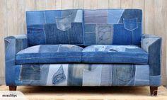 Unique Denim Couch | Trade Me