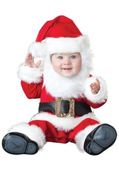 Santa Baby costume #Infant #Christmas