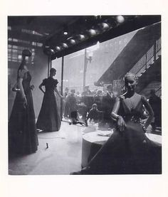 "NOTECARD:Edmund Teske Photographer""Corner window Sears Roebuck Chicago""1938 New"