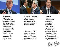 Renzi e Juncker hanno scoperto l'amore col giochino della flessibilità