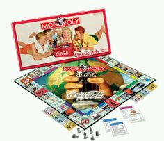 Coca Cola board game...