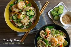 Soba Noodles with Shrimp and Wasabi-Ginger Dressing // Aida Mollenkamp // Pairs Well With Food