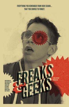 Freaks and Geeks 11x17 inch poster by TheArtOfAdamJuresko on Etsy, $22.00