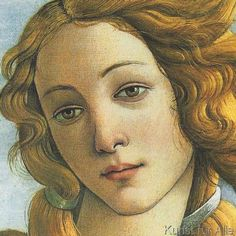 Sandro Botticelli - The Birth of Venus (detail)