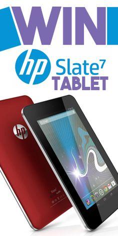 #Win an #HP Slate 7 #Tablet
