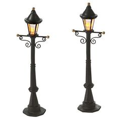Uptown Street Lights, Set of 2 – eFairies.com