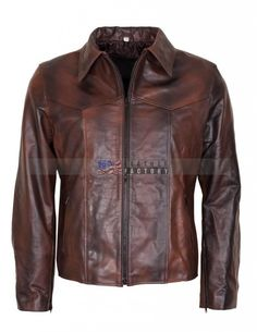 /'MAYHEM/' Men/'s Black With Purple Stripe Biker Style Fight Club Leather Jacket