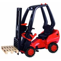Forklift pedal tractor, my boys would go crazy!
