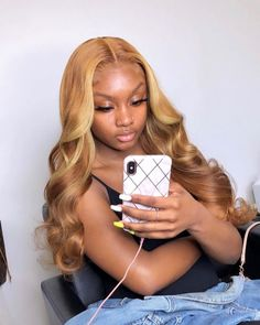 Shop our online store for Brown hair wigs for women.Brown Wig Lace Frontal Hair Brown Brazilian Weave From Our Wigs Shops,Buy The Wig Now With Big Discount. Blond Ombre, Blonde Wig, Blonde Hair Sew In, Ombre Hair, Ash Blonde, Blonde Natural Hair, Caramel Blonde, Honey Blonde Hair, Blonde Highlights